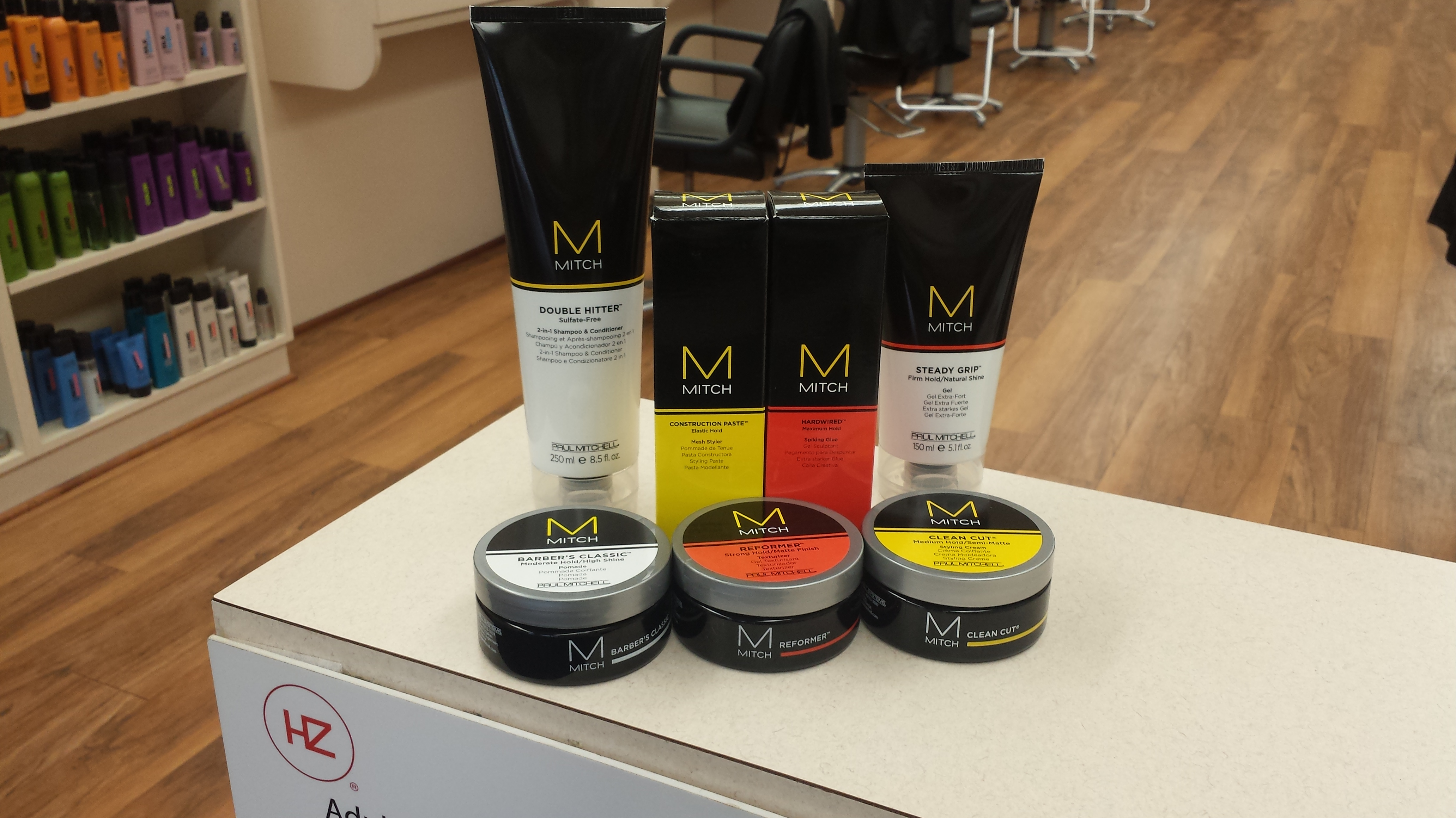 Ladies' Color Serums and Men's Mitch Products Guide