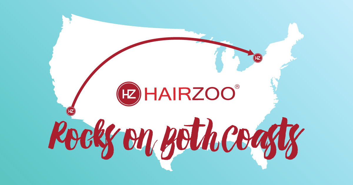 Hairzoo Rocks on Both Coasts