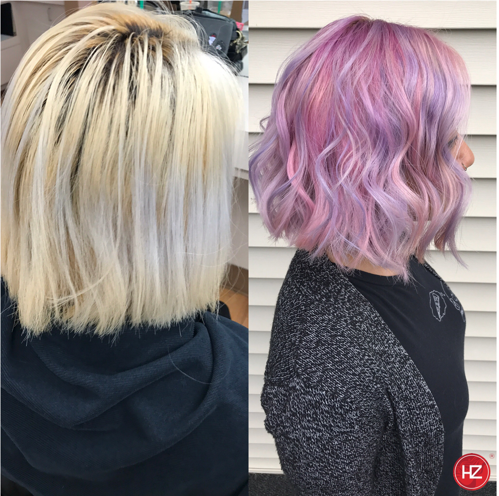 Hairzoo Color Before & After