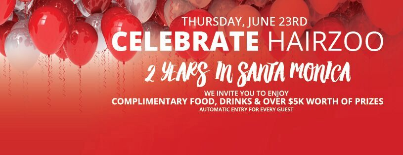 Time to Celebrate our Santa Monica Location
